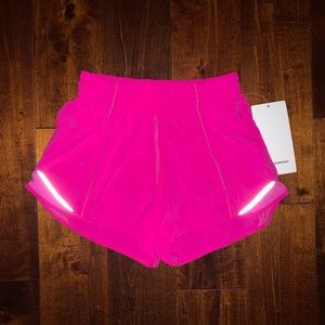 """Hotty Hot LR Short 4"""" Lined Pow Pink"""